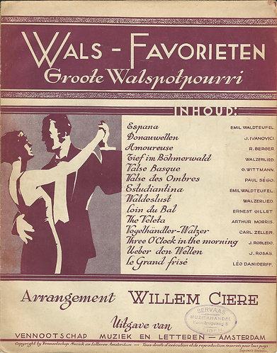 Great Walz Potpourri | Willem Ciere | Piano