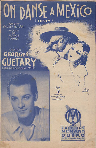 Georges Guetary | Francis Lopez | On Danse a Mexico | Chanson