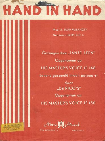 Jaap Valkhoff   Tante Leen   Hand in hand   Piano   Vocals