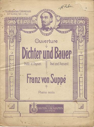 Franz von Suppé | Dichter und Bauer | Poète et Paysan | Piano