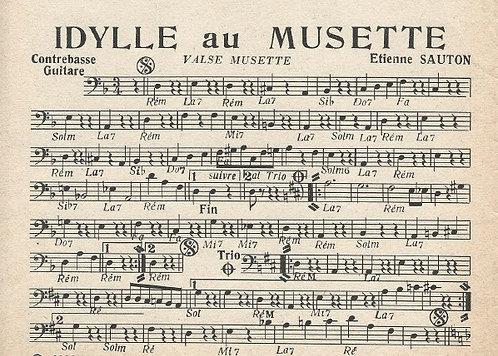 Etienne Sauton | Idylle au musette | Combo
