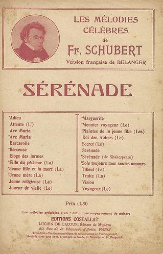 Franz Schubert | Serenade | Vocals | Guitar