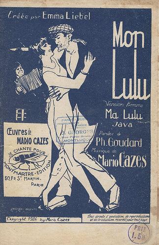 Mario Cazes | Mon Lulu | Chanson