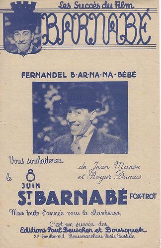 Fernandel | Roger Dumas | Bernabe | Chant | Accordeon | Guitare
