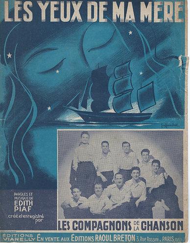 Edith Piaf | Les Compagnons de la Chanson | Les Yeux de ma Mere | Chanson