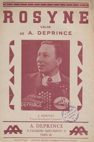 A. Deprince | Rosyne | Piano | Accordion