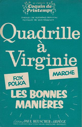 Guy Magenta | Fernand Bonifay | Le Quadrille a Virginie | Accordion | Violin