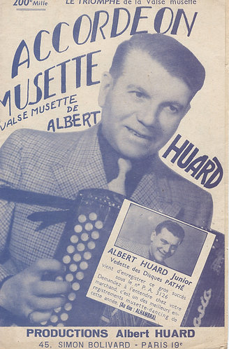 Albert Huard | Accordeon Musette | Piano | Accordion