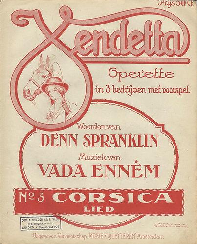 Vada Ennem | Corsica Lied | Piano | Vocals