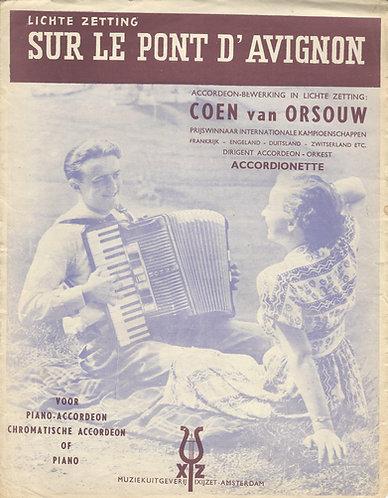 Traditional | Sur le pont d'Avignon | Accordion | Vocals