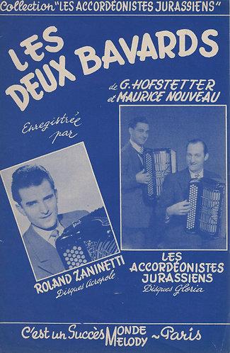 G. Hofstetter | M. Nouveau | Les Deux Bavards | Piano | Accordion