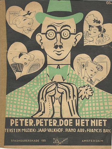 Jaap Valkhoff   Peter Peter doe het niet   Piano   Vocals