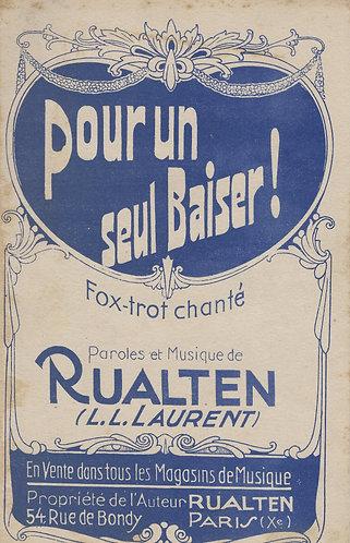 Rualten | Pour un seul baiser  | Accordion | Violin | Vocals