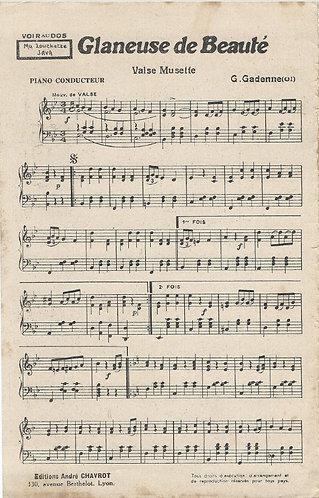 G. Gadenne | Glaneuse de Beaute | Piano