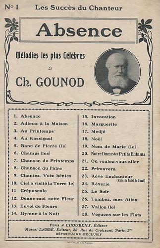 Ch. Gounod   Absence   Chanson