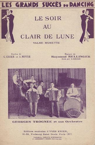 Raymond Mellinger | G. Krier | Le soir au clair de lune | Piano | Accordion