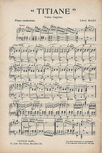 Leon Maes | Titiane | Piano