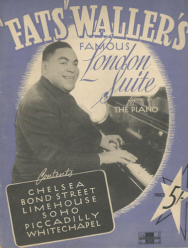 Fats Waller | London Suite | Piano | Jazz