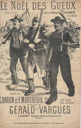 Gerald-Varguez | Le Noel Des Gueux | Chanson