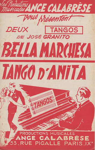 Jose Granito | Bella Marchesa | Accordion | Bandoneon