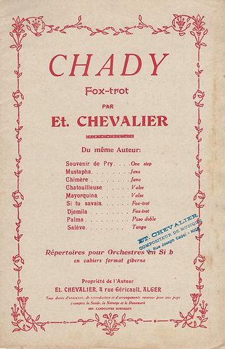 Et. Chevalier | Chady | Violin | Accordeon