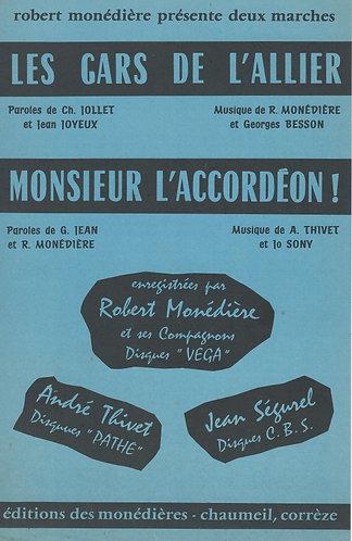 Andre Thivet | Jo Sony | Monsieur l'Accordeon! | Combo