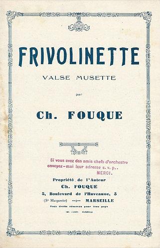 Ch. Fouque | Frivolinette | Piano