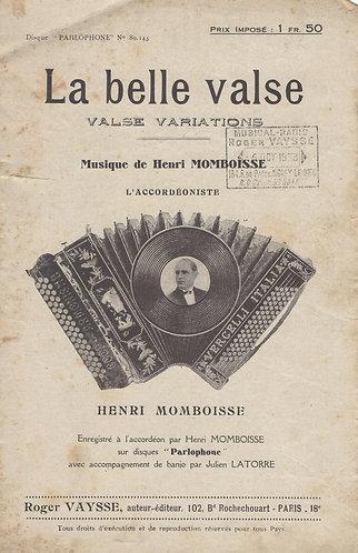 Henri Momboisse | Alcib Mario | La belle valse | Piano | Accordion