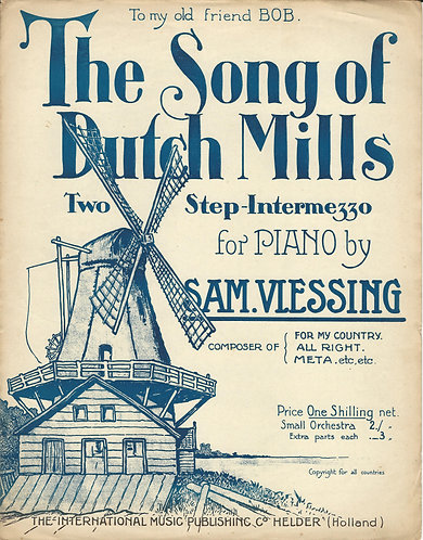 Sam. Vlessing | The song of Dutch Mills | Piano