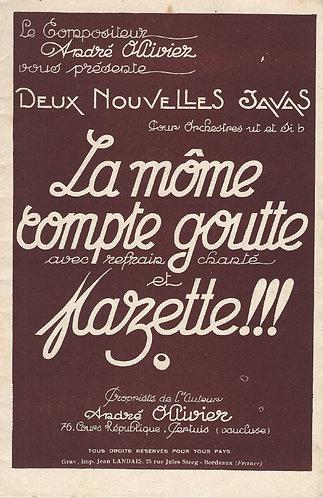 Andre Ollivier | La Môme Compte Goutte | Piano