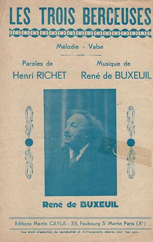 Rene de Buxeuil | Les Trois Berceuses | Piano | Chanson