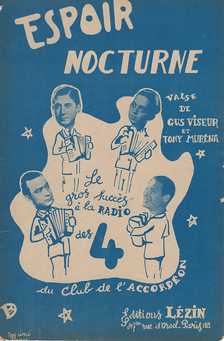 Gus Viseur | Tony Murena | Espoir Nocturne | Accordeon