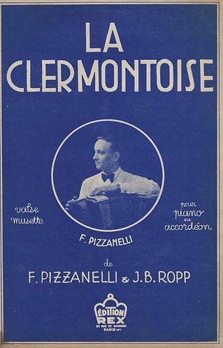 F. Pizzanelli   J.B. Ropp   La Clermontoise   Piano   Accordeon