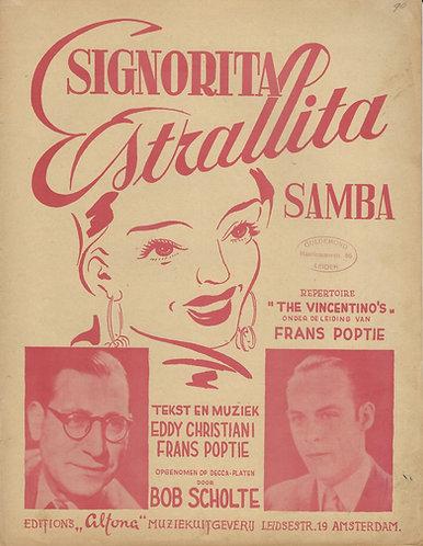 Eddy Christiani | Frans Poptie | Signorita Estrallita | Piano | Vocals