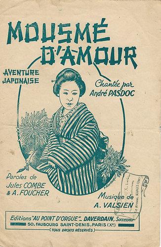 Andre Pasdoc   A. Valsien   Moesme d'amour   Chanson