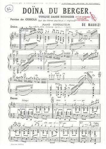 De Maurizi | Doina du Berger | Small Orchestra
