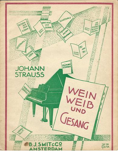 Johann Strauss | Wein Weib und Gesang | Piano