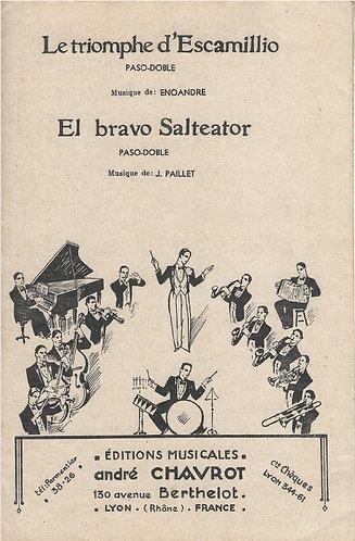 J. Paillet | Le triomphe d'Escamillio | Piano