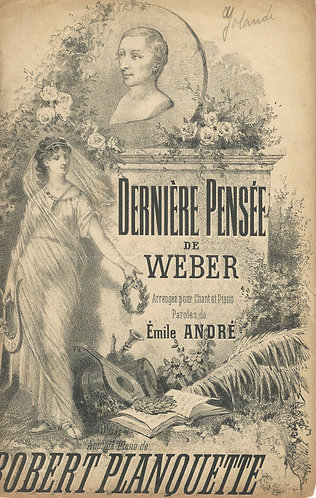 Robert Planquette   La Derniere Pensee de Weber   Piano