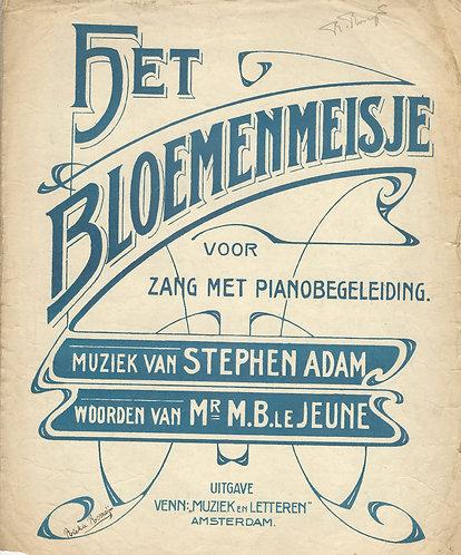 Stephen Adam | Het Bloemenmeisje | Piano | Vocals