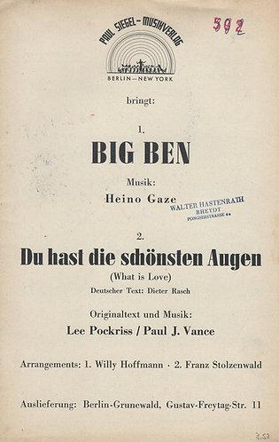 Heino Gaze | Big Ben | Small Orchestra | Combo