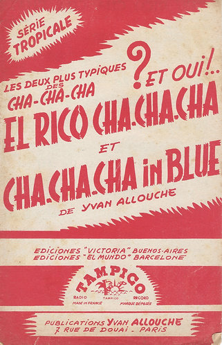 Yvan Allouche | Cha Cha Cha In Blue | Piano