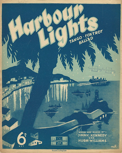 Hugh Williams | Jimmy Kennedy | Harbour Lights | Piano | Vocals