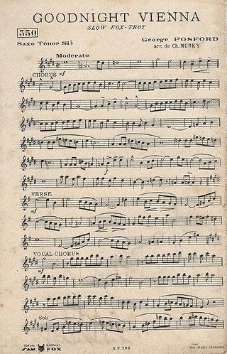 George Posford | Good night Vienna | Orchestra