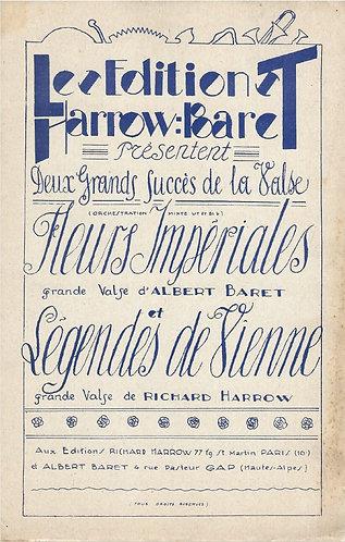 Albert Baret | Fleurs Imperiales | Piano