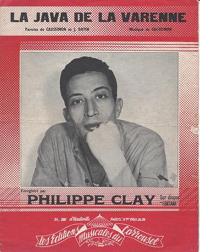 Philippe Clay | Caussimon | Jacques Datin | La Java de la Varenne | Chanson
