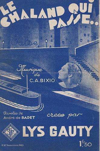Lys Gauty | C.A. Bixio | Le Chaland Qui Passe | Chanson