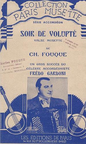 Ch. Fouque | | Fredo Gardoni | Soir de Volupte | Accordeon