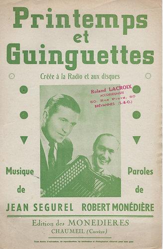 Jean Segurel | Printemps et Guinguettes | Accordeon