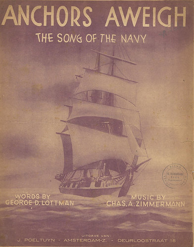 Chas. A. Zimmermann | Anchors Aweigh | Piano | Vocals